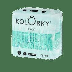 KOLORKY DAY - balóny - L (8-13 kg) - 19 ks - jednorázové eko plenky