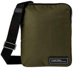 Calvin Klein Pánska crossbody taška Prima ry 2G Flat Crossover Olive