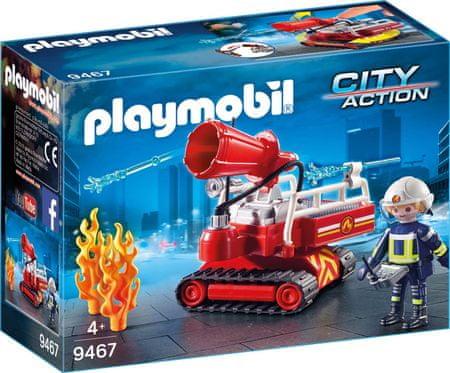 Playmobil gasilski vodni top (9467)