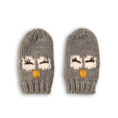 Minoti Rukavice pletené OWL 14