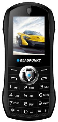 Blaupunkt Car, jednoduchý tlačítkový levný dostupný klasický telefon, Dual SIM, FM rádio, dlouhá výdrž baterie