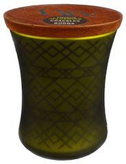 Woodwick Apple Basket sveča 275 g - okrasna vaza