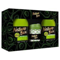 Nature Box Kosmetická sada s hrnkem Avocado