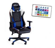 Bytezone Winner gamerski stol, z LED osvetlitvijo