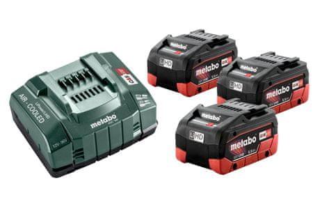 Metabo baterijski komplet s polnilcem LIHD 5,5 Ah + ASC 145 (685074000)