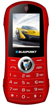 Blaupunkt CAR GSM telefon, rdeč
