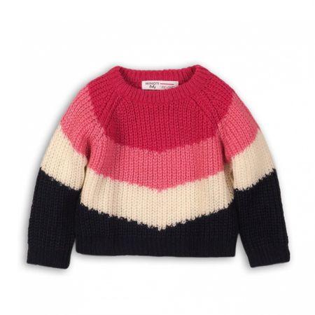 Minoti Lány pulóver RUN 1104 - 110, rózsaszín
