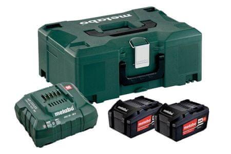 Metabo baterijski komplet s polnilcem LI-Power 4,0 Ah + ASC 55 (685064000)