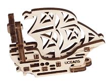 UGEARS Kľúčenka - loď