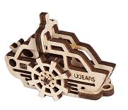 UGEARS Kľúčenka - parník