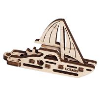 UGEARS Kľúčenka - jachta