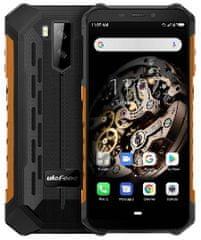 Ulefone smartfon Armor X5 DS, 3GB/32GB, czarno - pomarańczowy