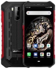 Ulefone smartfon Armor X5 DS, 3 GB/32 GB, czarno - czerwony