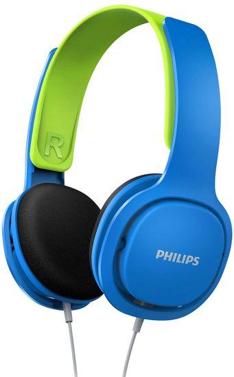 Philips SHK2000 sluchátka, modrá