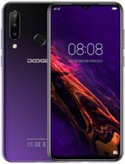 Doogee Y9 Plus, 4GB/64GB, fialový