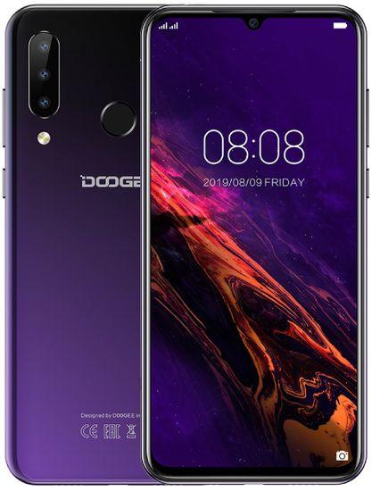 Doogee Y9 Plus, 4GB/64GB, fialový - použité