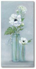 Courtside Market 3 bílé květiny - 120 X 60