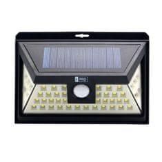 Bezdoteku LEDSolar 46 solárne vonkajšie svetlo, 46 LED so senzorom, bezdrôtové, iPRO, 3W, studená farba