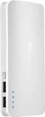 Canyon Powerbank punjiva baterija, 10.000 mAh, micro USB input 5V/2A, USB output 5V/2A (maks.) (CNE-CPB100W), bijela
