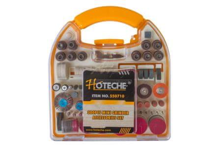 Hoteche Brusné nástavce na přímou brusku, 300 ks - HT550710   Hoteche