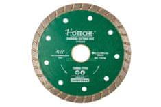 Hoteche Diamantový řezný kotouč, TURBO, 115 mm - HT570363   Hoteche