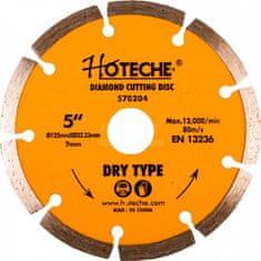 Hoteche Diamantový rezný kotúč 125 mm, segmentový - HT570204 | Hoteche