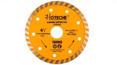 Hoteche Diamantový rezný kotúč 115 mm, TURBO - HT570303   Hoteche