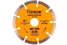 Hoteche Diamantový rezný kotúč 115 mm, segmentový - HT570203   Hoteche