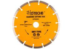 Hoteche Diamantový rezný kotúč 180 mm, segmentový - HT570205 | Hoteche