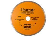 Hoteche Diamantový řezný kotouč 180 mm, WET TYPE - HT570105   Hoteche