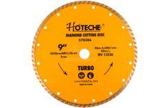 Hoteche Diamantový rezný kotúč 230 mm, TURBO - HT570306 | Hoteche