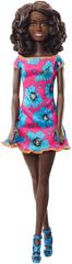 Mattel Barbie négerbaba rózsaszín ruha