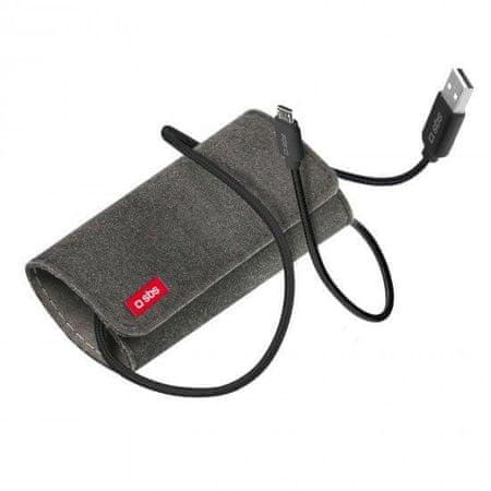 SBS podatkovni kabel mikro USB s potovalno torbico