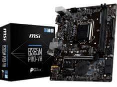 MSI B365M PRO-VH, DDR4, USB 3.1 Gen 1, LGA 1151, Micro-ATX osnovna plošča
