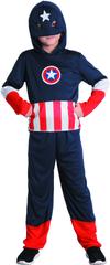 MaDe strój na karnawał - Kapitan Ameryka