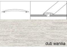 Effector Prechodové lišty samolepiace A70, 6 x 100 cm - dub wanilia