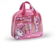 EP Line Kosmetická sada pro děti s leskem na rty a vlasovými doplňky Unicorn