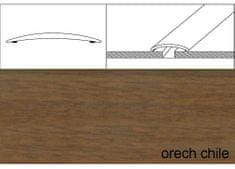 Effector Prechodové lišty samolepiace A70, 6 x 100 cm - orech chile