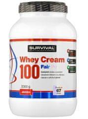 Survival Whey Cream 100 Fair Power 2000g