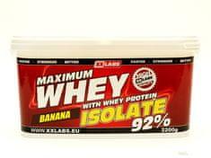 XXlabs Nutrition Maximum Whey Protein Isolate 92 2200g