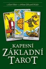Oken Alan: Kapesní Základní Tarot - Kniha + 78 karet
