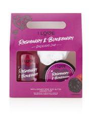 I Love Cosmetics Zestaw zapachowy malinowo-jeżynowy Malinowo-jeżynowy Black Berry Delicious Duo