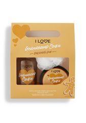 I Love Cosmetics Gingerbread Cookie Delicious Duo mézeskalács illatú kozmetikai szett