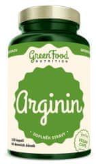 GreenFood Arginin vegan 120kapsúl