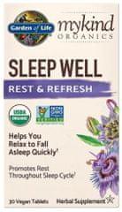 Garden of Life Mykind Organics Sleep Well - pro dobrý spánek 30tablet