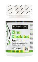 Survival Zinc Chelated Fair Power 100tablet