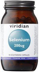 VIRIDIAN nutrition Selenium 200µg 90kapslí