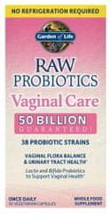 Garden of Life RAW Probiotika - vaginální péče 30kapslí