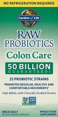 Garden of Life RAW Probiotika - péče o tlusté střevo 30kapslí