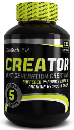 BioTech USA CreaTor 120kapslí